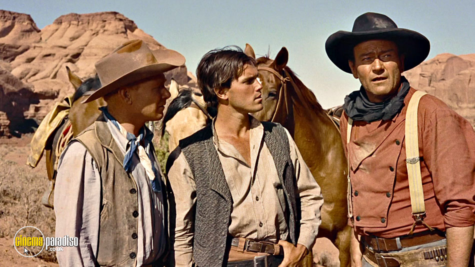 The Searchers online DVD rental