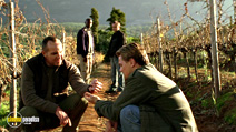 A still #8 from Blood Diamond with Leonardo DiCaprio and Arnold Vosloo
