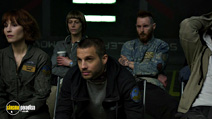 A still #5 from Prometheus with Sean Harris, Noomi Rapace and Logan Marshall-Green