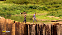 A still #10 from The Kings of Summer