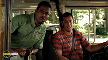 A still #12 from Grown Ups 2 with Chris Rock and Adam Sandler