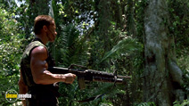 A still #8 from Predator (1987) with Arnold Schwarzenegger