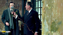 A still #8 from The King's Speech with Geoffrey Rush and Colin Firth