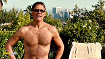 A still #5 from No Strings Attached with Kevin Kline