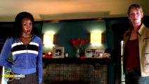 A still #2 from Kill Bill: Vol.1 with Uma Thurman and Vivica A. Fox