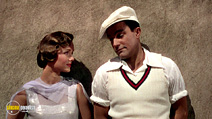 A still #19 from Singin' in the Rain with Gene Kelly and Debbie Reynolds
