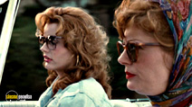 A still #17 from Thelma and Louise with Susan Sarandon and Geena Davis