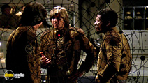 A still #9 from Battlestar Galactica (1978) with Dirk Benedict and Herbert Jefferson Jr.