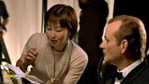 A still #4 from Lost in Translation with Bill Murray and Akiko Takeshita