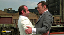 A still #5 from The Long Good Friday with Bob Hoskins and Eddie Constantine