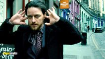 A still #5 from Filth with James McAvoy