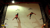 Still #5 from Born to Fly: Elizabeth Streb vs. Gravity