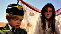 A still #14 from Walkabout with Jenny Agutter and Luc Roeg