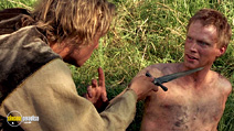 A still #9 from A Knight's Tale (2001) with Paul Bettany