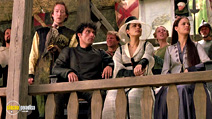 A still #13 from A Knight's Tale (2001) with Rufus Sewell and Shannyn Sossamon