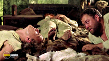 A still #14 from A Knight's Tale (2001) with Mark Addy and Heath Ledger