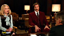 A still #20 from Anchorman 2: The Legend Continues with Will Ferrell and Christina Applegate