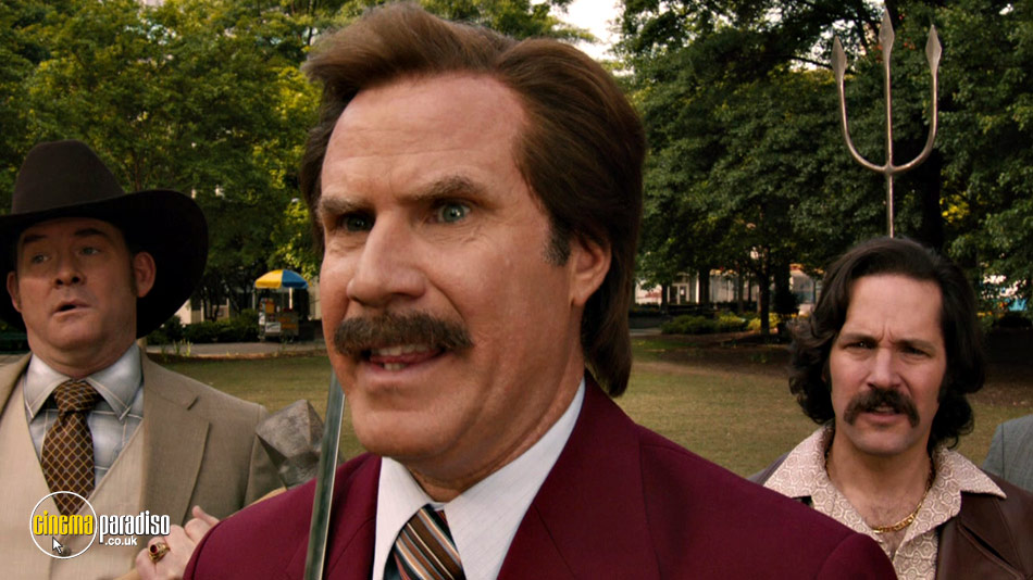 Anchorman 2: The Legend Continues online DVD rental