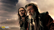 A still #17 from Outlander with Jack Huston and John Hurt