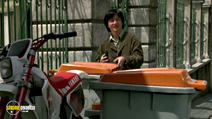 A still #9 from Operation Condor: Armour of God 2 (1991) with Jackie Chan