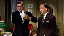 A still #19 from James Bond: Doctor No with Sean Connery and Peter Burton