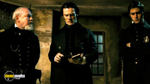 A still #6 from The Raven (2012) with Jimmy Yuill, Luke Evans and Oliver Jackson-Cohen