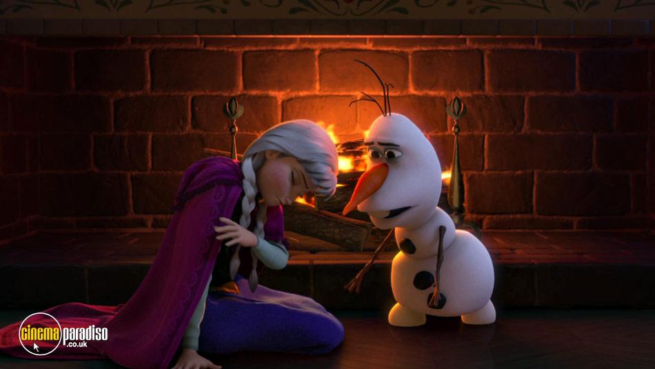 Frozen online DVD rental