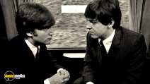 A still #21 from The Beatles: A Hard Day's Night with Paul McCartney and John Lennon