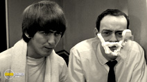 A still #17 from The Beatles: A Hard Day's Night with George Harrison and John Junkin
