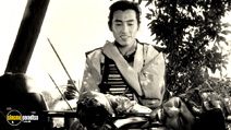 A still #20 from Seven Samurai with Isao Kimura