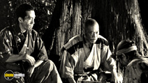 A still #17 from Seven Samurai with Takashi Shimura
