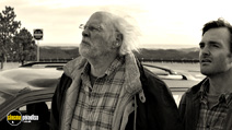 A still #18 from Nebraska with Bruce Dern and Will Forte