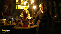 A still #15 from The Zero Theorem with Christoph Waltz