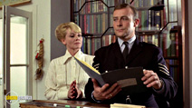 A still #13 from The Wicker Man with Edward Woodward and Diane Cilento