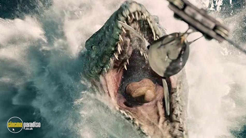 Still from Jurassic World 1