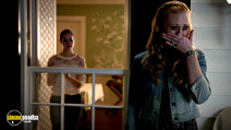A still #19 from True Blood: Series 7 with Deborah Ann Woll and Bailey Noble