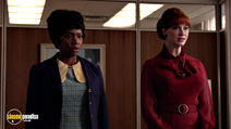 A still #15 from Mad Men: Series 7: Part 1 with Christina Hendricks and Teyonah Parris