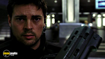 A still #18 from Doom with Karl Urban