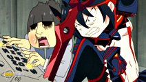 Still #8 from Kill La Kill: Part 1