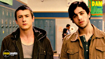 A still #17 from Drillbit Taylor with Alex Frost and Josh Peck