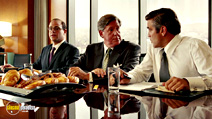 A still #17 from Intolerable Cruelty with Paul Adelstein and Edward Herrmann