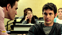 A still #8 from Smiley (2012) with Roger Bart and Toby Turner
