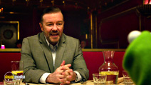 A still #20 from Muppets Most Wanted with Ricky Gervais