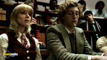 A still #15 from The Quiet Ones with Erin Richards and Rory Fleck-Byrne