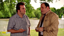 A still #8 from Shallow Hal with Jack Black and Jason Alexander