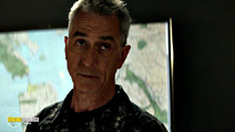 A still #14 from Godzilla with David Strathairn