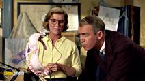 A still #19 from Vertigo with James Stewart and Barbara Bel Geddes