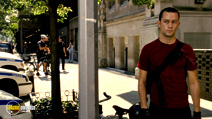 A still #8 from Premium Rush (2012) with Joseph Gordon-Levitt