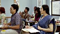 A still #9 from English Vinglish (2012) with Sridevi and Rajeev Ravindranathan