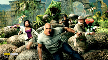 A still #5 from Journey 2: The Mysterious Island (2012) with Dwayne Johnson, Michael Caine, Josh Hutcherson and Vanessa Hudgens